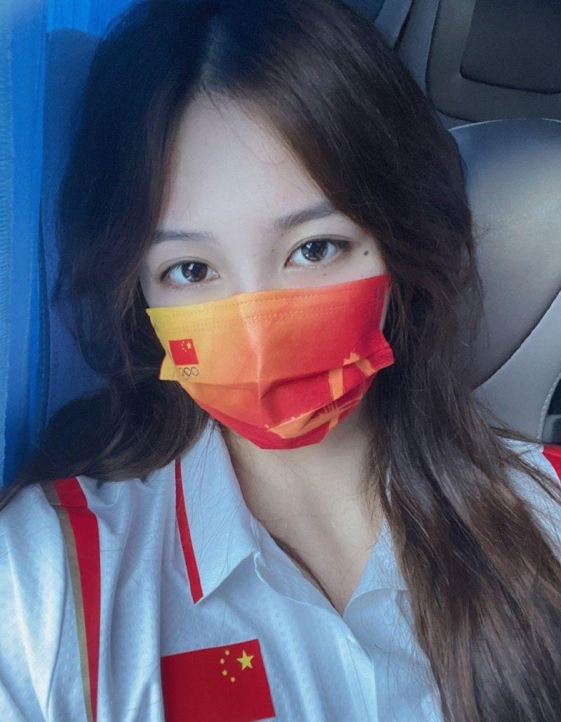 ▲23歲的中國國家女子水球隊隊長熊敦瀚。(圖/翻攝自微博)
