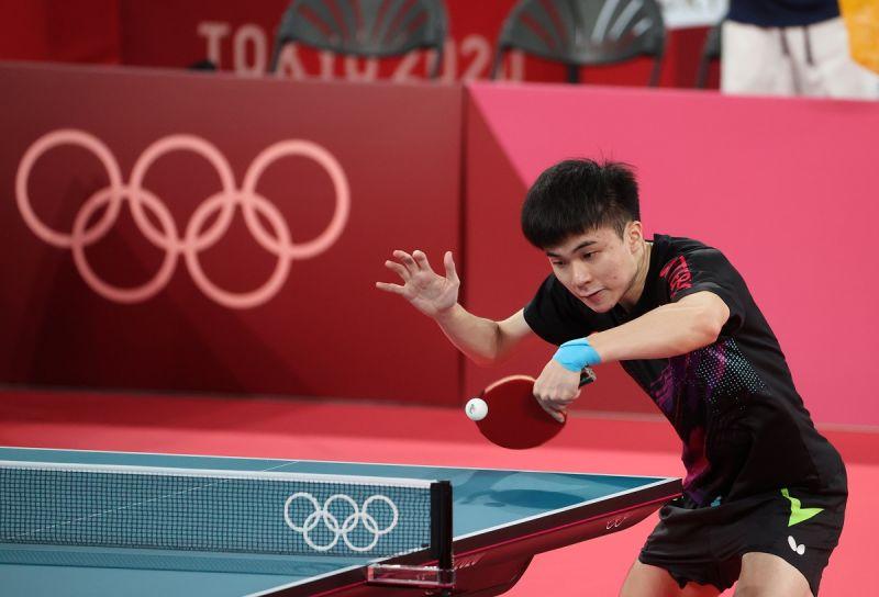 ▲東京奧運台灣桌球代表隊,林昀儒。(圖/體育署提供)