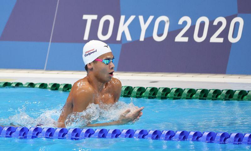 ▲東京奧運台灣游泳代表隊,王星皓。(圖/體育署提供)