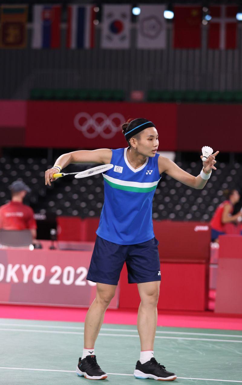 ▲東京奧運台灣羽球代表隊,戴資穎。(圖/體育署提供)