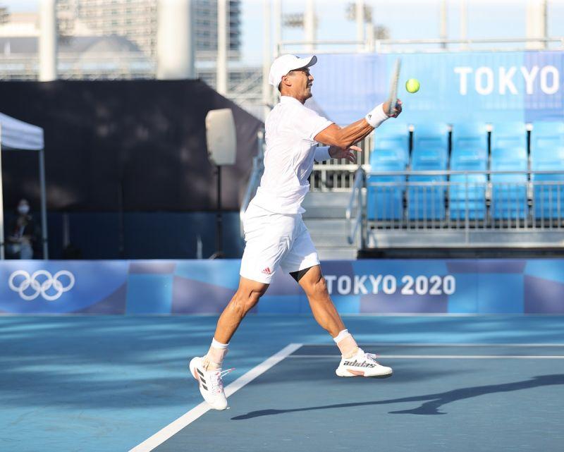 ▲東京奧運台灣網球代表隊,盧彥勳。(圖/體育署提供)