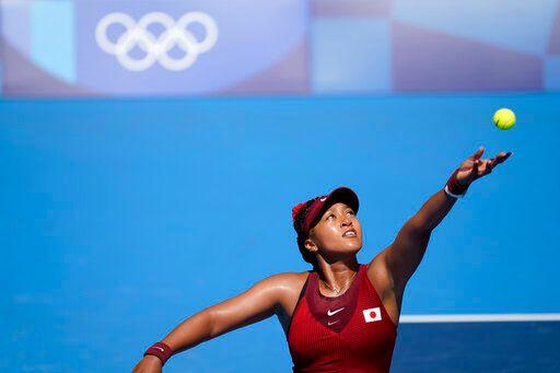 ▲日本網球女將大坂直美在奧運女單第三輪出局。(圖/美聯社/達志影像)