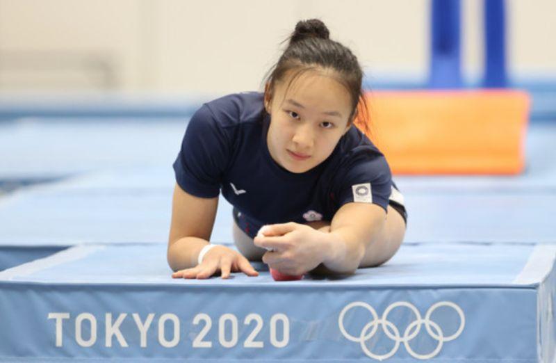 ▲東京奧運體操女子個人項目資格賽,「體操精靈」丁華恬無緣晉級8強決賽。(圖/體育署提供)