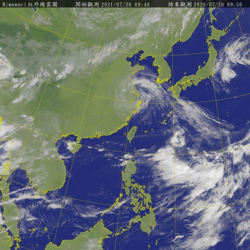 ▲彭啟明表示,本周仍有新颱發展的機會。(圖/翻攝自中央氣象局)