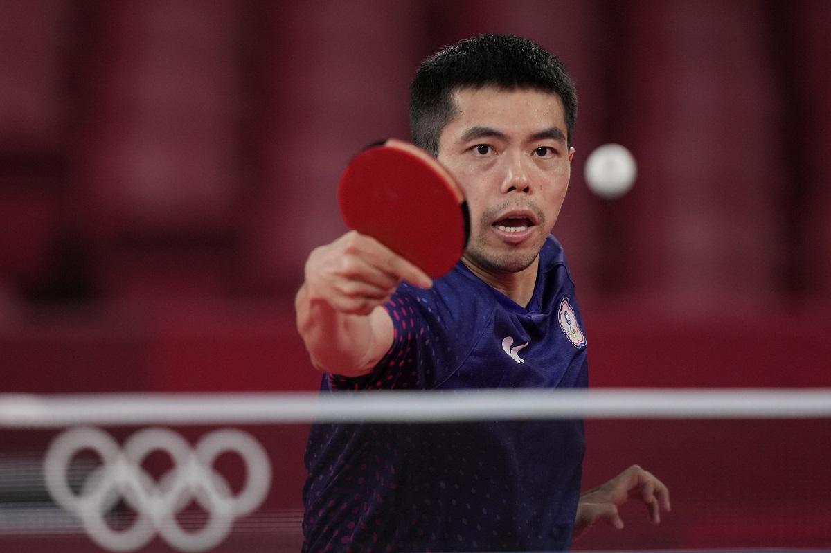 ▲2021年亞洲桌球錦標賽,「桌球教父」莊智淵今(5)日成為我國世上第2位打進男單決賽的好手。(圖/體育署提供)