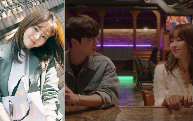 ▲劇中,韓韶禧(左)搞失聯,宋江(右圖左)到酒吧轉移注意力。(圖/Netflix、JTBC DRAMA臉書)