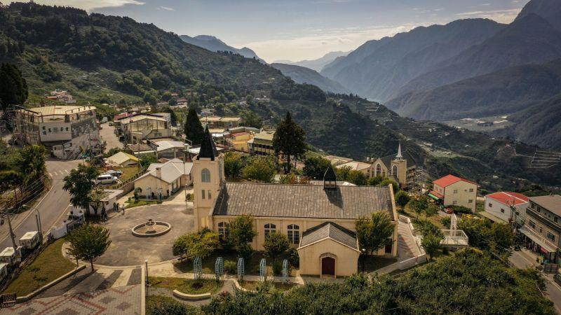▲梨山耶穌堂(圖/參山處提供2021.7.26)