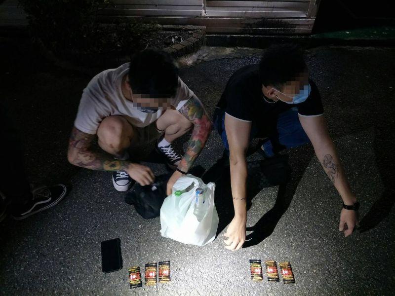 阻斷特殊交友傳播鏈 警臨檢汽車旅館查獲6男女開毒趴