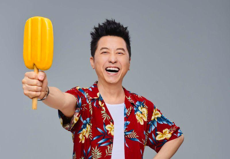 ▲庾澄慶送1.5萬支冰棒給警察。(圖/哈林工作室提供)