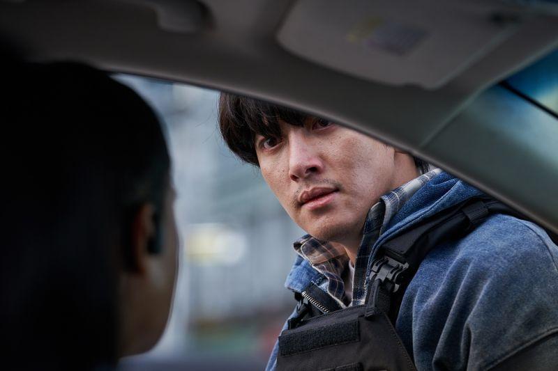 ▲池昌旭在《極速引爆》中飾演神祕人物