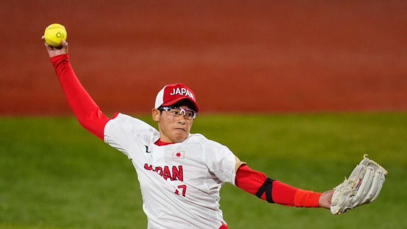 ▲日本女壘投手上野由岐子。(圖/美聯社/達志影像)