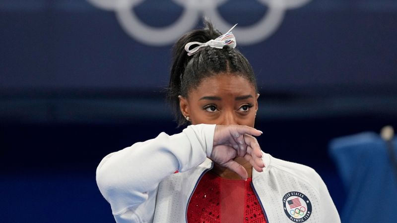 奧運/體操天后Biles因心理因素退賽 美國女團爆冷丟金
