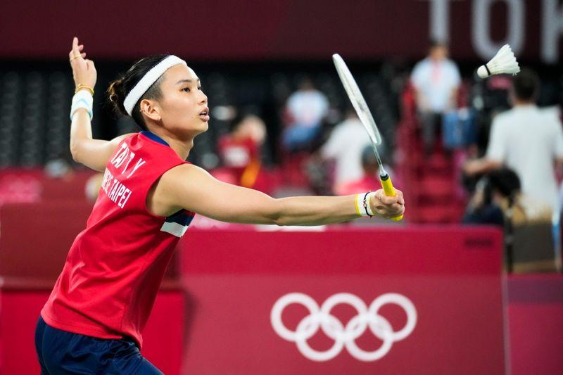 ▲戴資穎以3勝全勝、小組第1,晉級東京奧運羽球女單8強。(圖/美聯社)