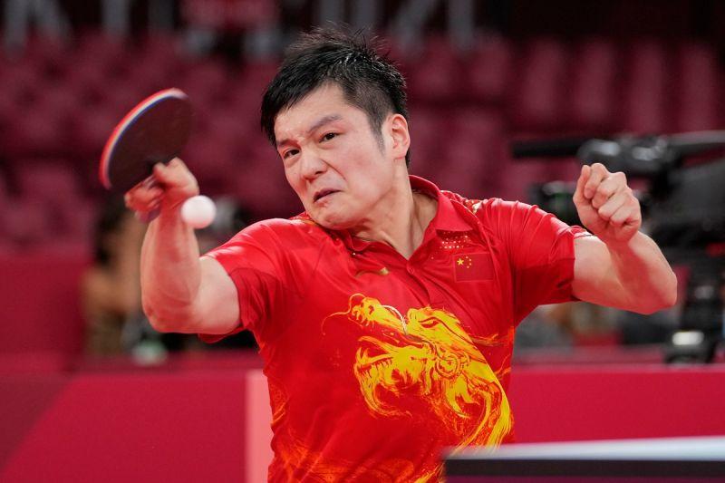 奧運/球王樊振東直落四獲勝 率先進入四強等待林昀儒
