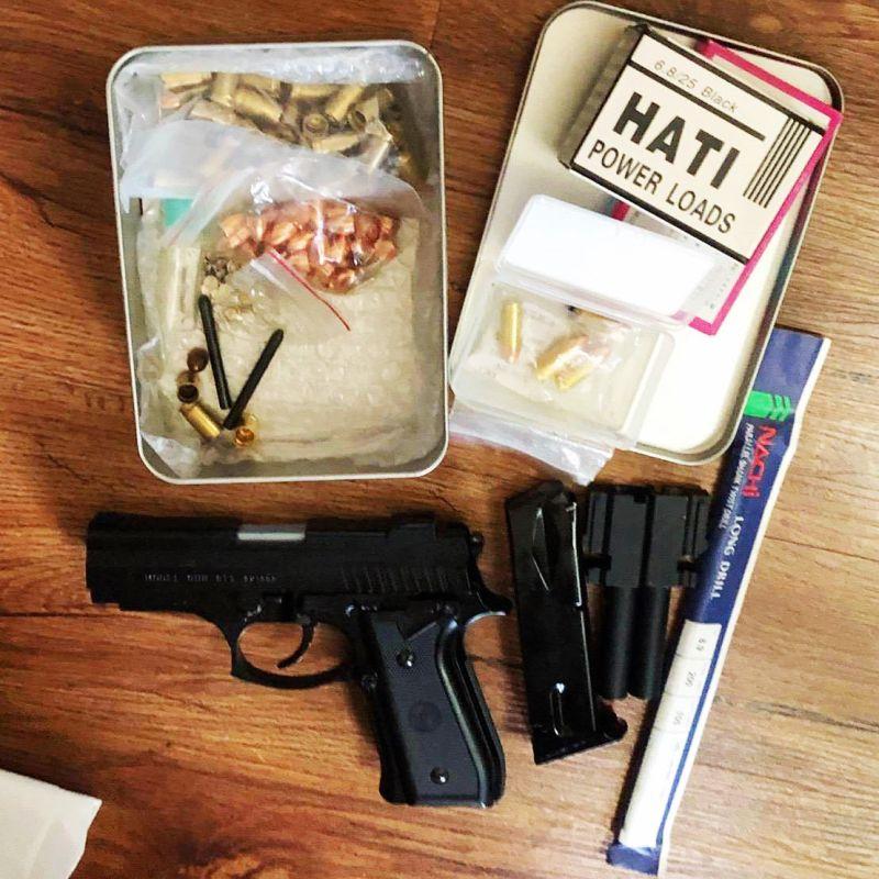 高市警苓雅分局飛象過河屏東市 查獲擁槍自重男子
