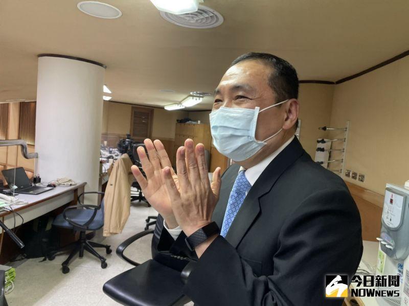 總統蔡英文線上預約打高端疫苗 侯友宜回應3個字