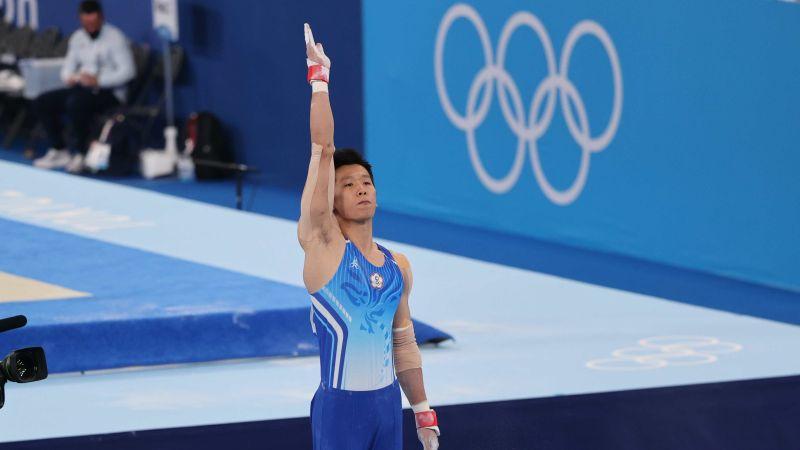 ▲「鞍馬王子」李智凱在東京奧運個人全能決賽中,在擅長的鞍馬項目罕見發生兩次落馬失誤。(圖/體育署提供)