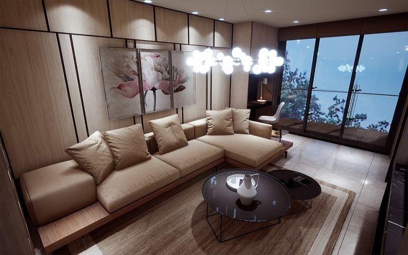 ▲從建築外觀到室內設計都倚賴豪宅團隊打造,細節相當講究。(圖/台北雪梨灣提供)