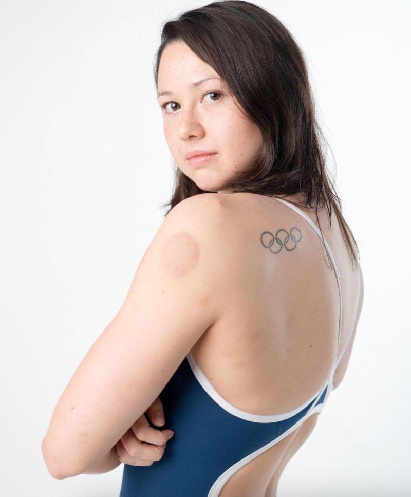 ▲奧運香港女泳將何詩蓓。(圖/取自何詩蓓IG)