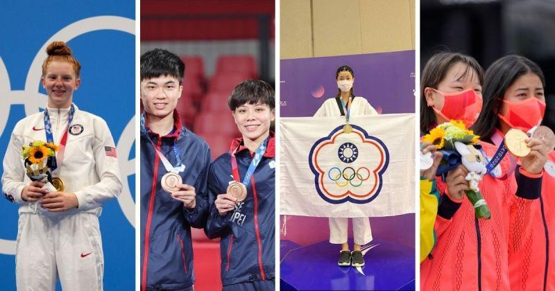 ▲新生代選手當中最引人矚目的莫過於年齡不到二十歲的青年選手了。(圖/取自美聯社, @chia__ling_ 和 @lin__yun_ju_ / IG)