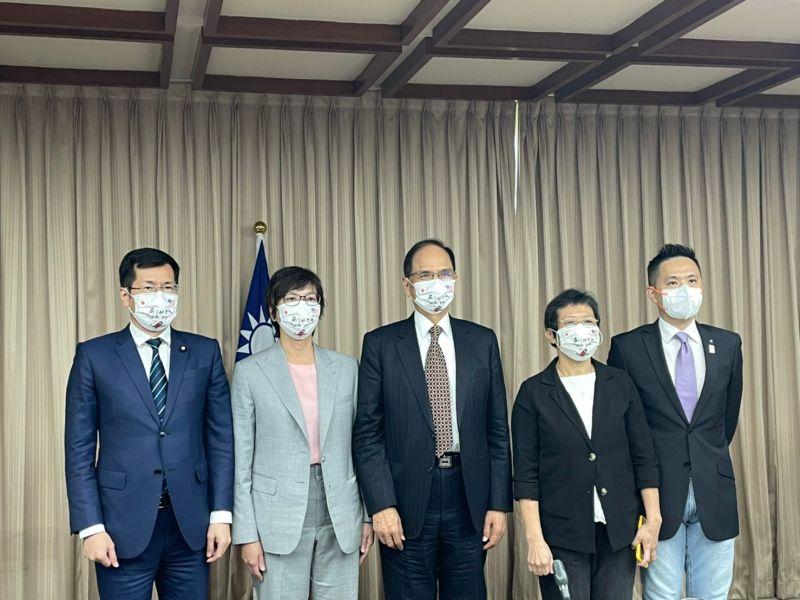 台美日國會戰略論壇 蔡壁如感謝美日捐贈疫苗