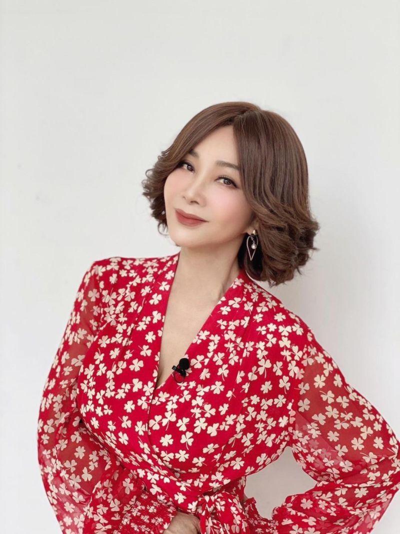 ▲65歲陳美鳳保養得宜。(圖/陳美鳳臉書)