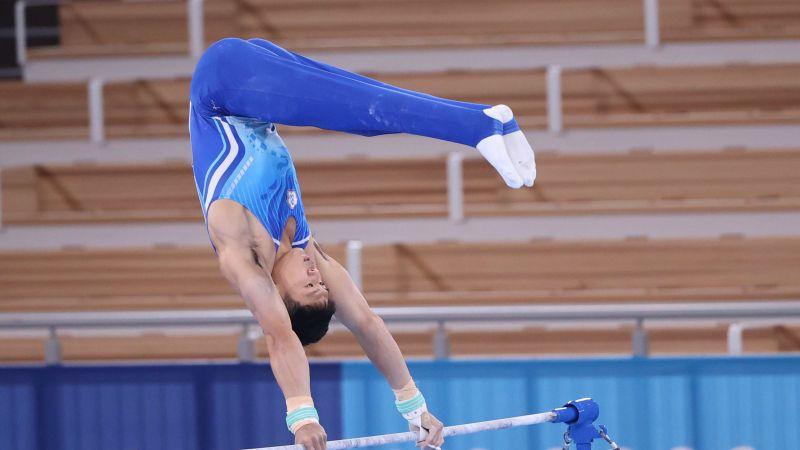 ▲唐嘉鴻在東京奧運個人全能表現精采。(圖/體育署提供)