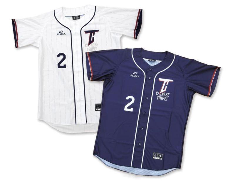 ▲近來國際賽,我國棒球代表隊多披上台灣犬戰袍,取代過往藍白紅為主色的中華隊球衣,圖為2021年最新版台灣犬球衣。(圖/翻攝自蔡其昌臉書)