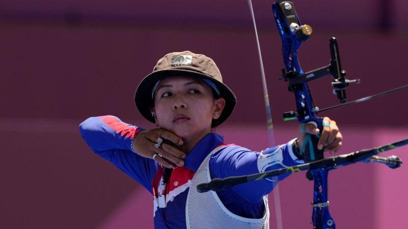 ▲2020東京奧運,我國泰雅女射手林佳恩生涯第2度挑戰奧運,。(圖/美聯社/達志影像)