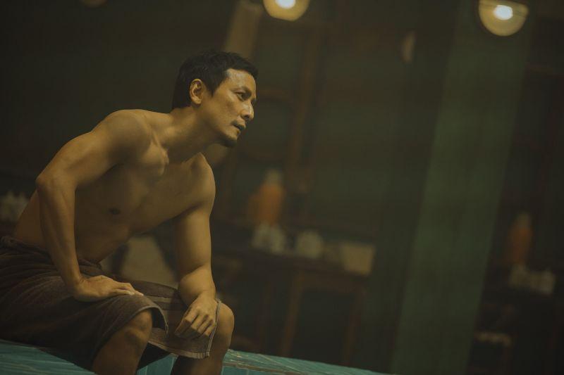 ▲吳彥祖為戲秀身材。(圖/華映娛樂提供)