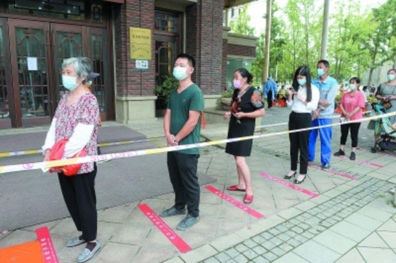 ▲南京市展開第3輪全員核酸檢測工作。(圖/翻攝自南京日報)