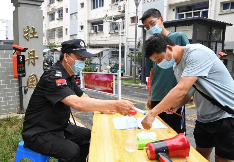 ▲Delta病毒來勢洶洶,南京市所有小區皆實行出入嚴格管控。(圖/翻攝自南京日報)