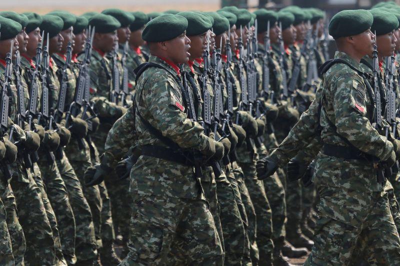 ▲印尼與美國8月1日起將在蘇門答臘、蘇拉威西與加里曼丹島舉行為期兩週的聯合軍事演習,將有約4500名官兵參與,是兩國規模最大的聯合演習。資料照。(圖/美聯社/達志影像)