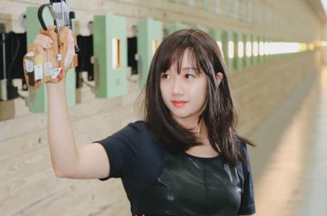 ▲2020東京奧運女子射擊25公尺火藥手槍項目,「證件妹」吳佳穎最後拿下第5。(取自吳佳穎臉書)