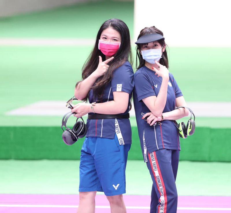 ▲2020東京奧運女子射擊25公尺火藥手槍項目,台灣女將「證件妹」吳佳穎與「媽媽射手」田家榛都在決賽出賽。(圖/體育署提供)