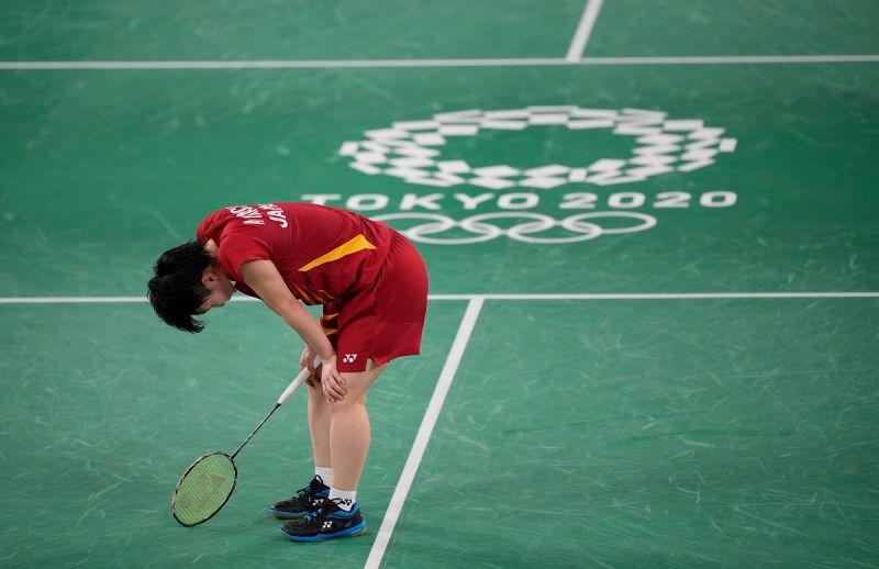 ▲山口茜在東京奧運女單八強止步。(圖/美聯社/達志影像)
