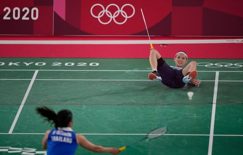 ▲2020東京奧運,我國世界球后戴資穎迎戰宿敵泰國一姊依瑟儂(Ratchanok