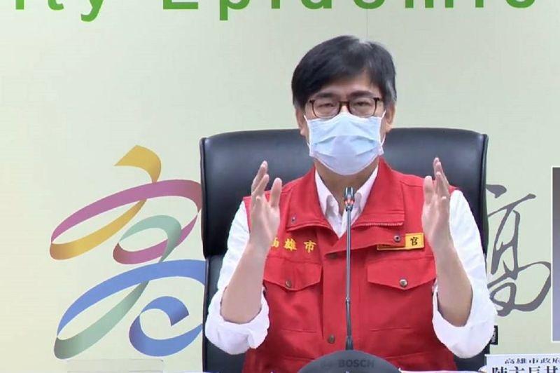 ▲陳其邁表示,他做市長的覺得這樣對不起大家,所以疫苗施打服務還是要照第一次怎麼做第二次就怎麼做,請大家放心。(圖/高市府提供)