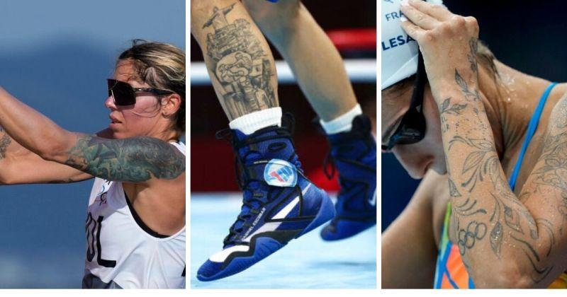 東奧選手翻轉刺青負面印象 突破框架在舞台上大放異彩