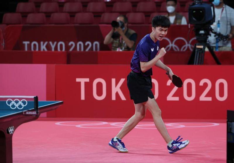 ▲台灣少年震撼國際桌壇,雖然在本屆東京奧運中以第四名作收,但已經追平2012年倫敦奧運莊智淵的紀錄。(圖/體育署提供)」