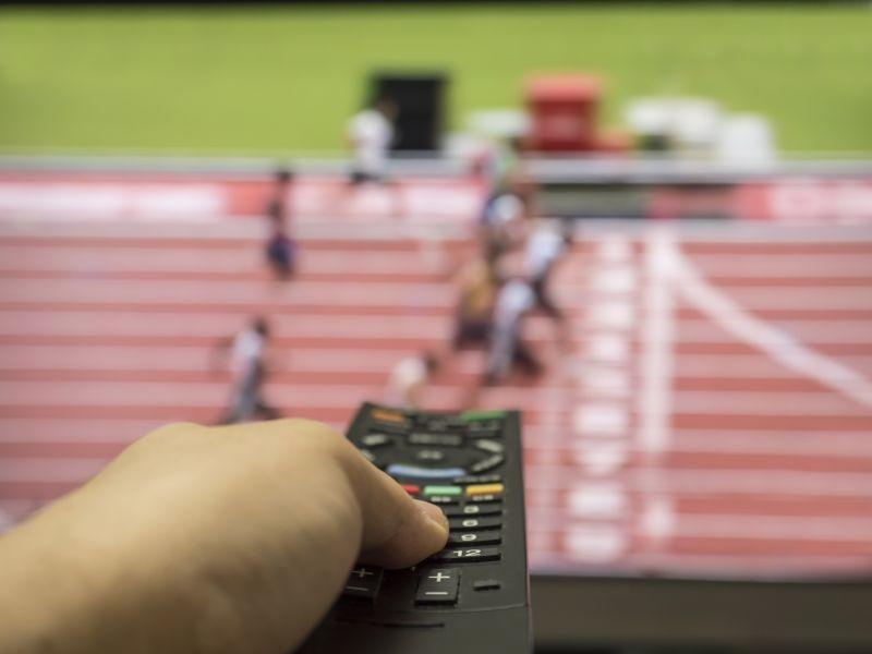 ▲奧運、機上盒、電視、運動、賽事、遙控器(圖/取自Photo