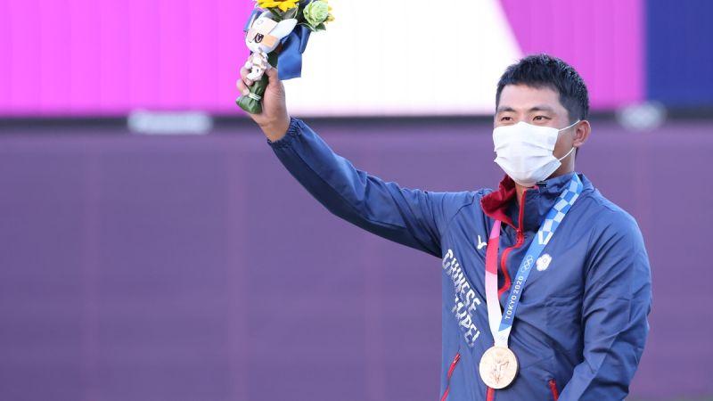 ▲東京奧運高爾夫項目,「台灣高球一哥」潘政琮拿下銅牌。(圖/美聯社)