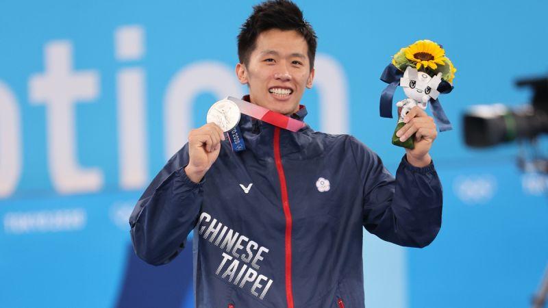 ▲李智凱在東京奧運個人鞍馬決賽中奪銀。(圖/體育署)