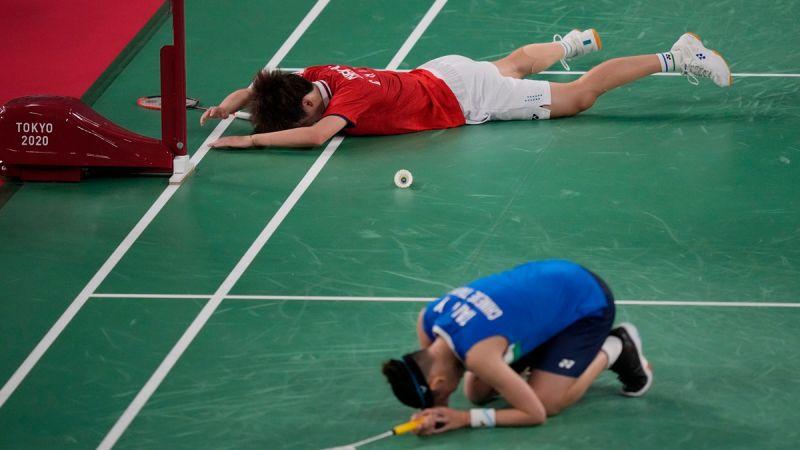 ▲東京奧運羽球女單金牌戰今(1)日進行,我國世界球后戴資穎對上中國大陸名將陳雨菲,雙方此役都打出了各自最好的水平。(圖/美聯社)