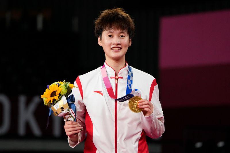 奧運/奪金後惺惺相惜 陳雨菲:一直把戴資穎當成是目標