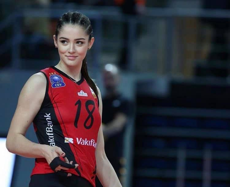 ▲▼土耳其「排球女神」古妮絲。(圖/Zehra