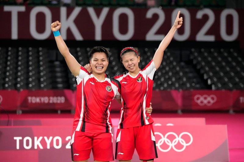 奧運/印尼女雙擊敗中國奪金創4紀錄 獎金、房子都有了