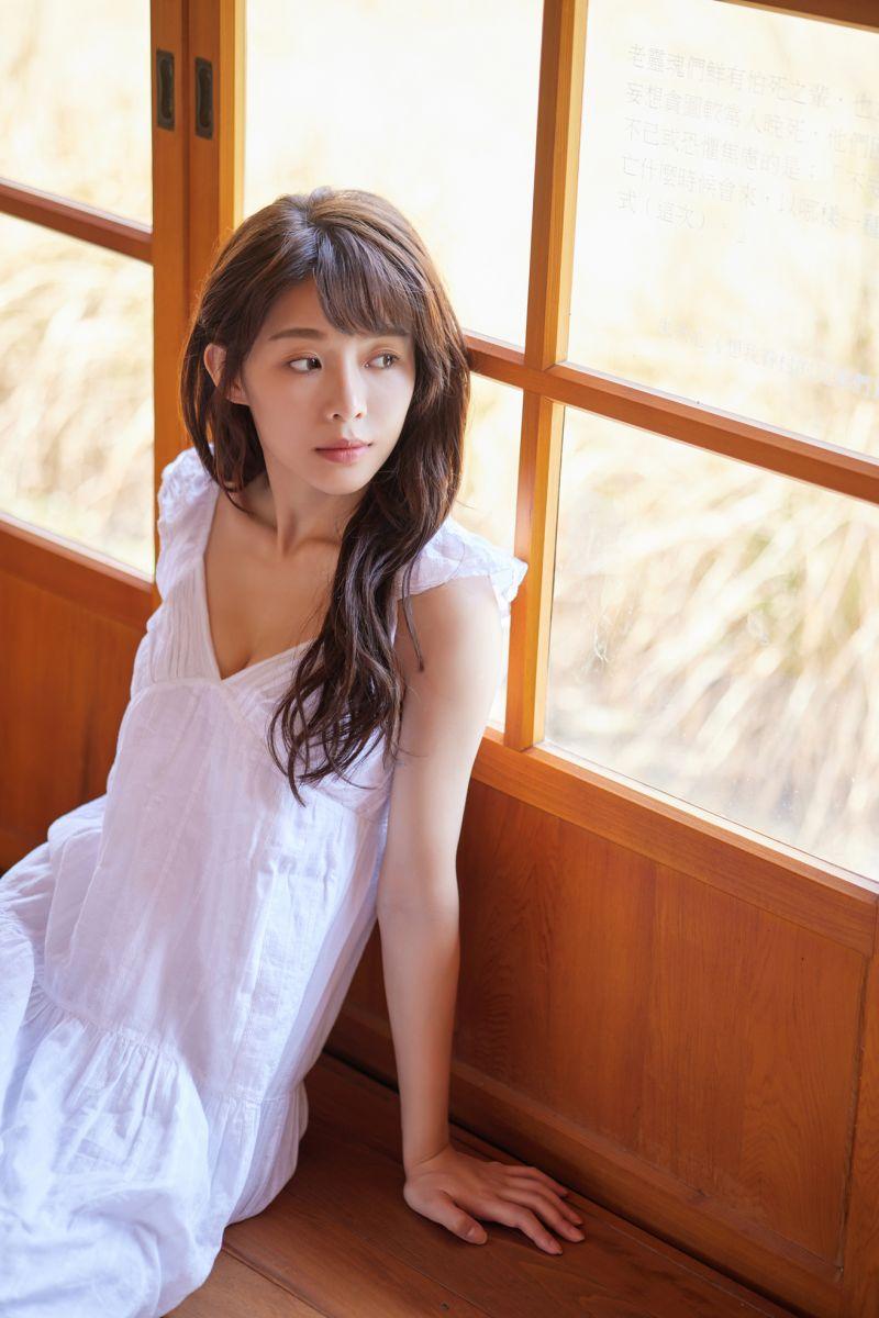 ▲陳怡叡有「地表最正的樂天啦啦隊女孩」的封號。(圖/時報提供)