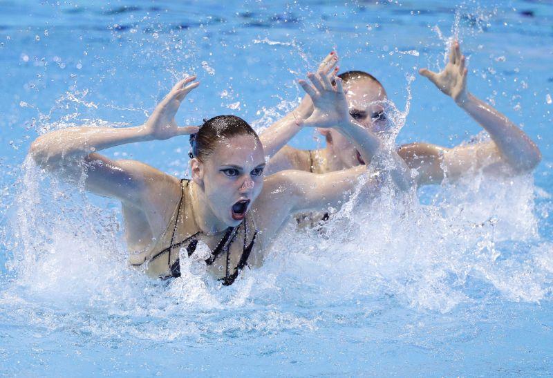 ▲網友分享看到奧運水上芭蕾的比賽令他歎為觀止。(圖/美聯社/達志影像)