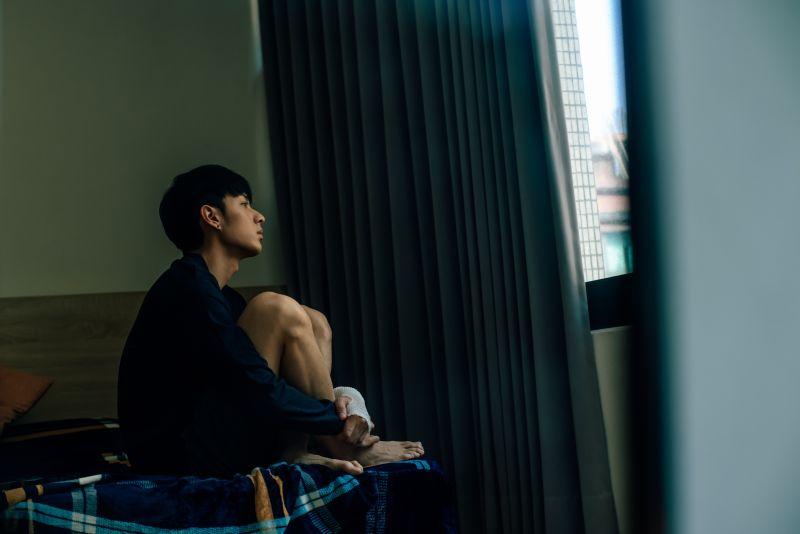 ▲鍾岳軒飾演的角色,與盧學叡、林重鹹演唱的《小光》電影主題曲角色個性不謀而合。(圖/GagaOOLala提供)